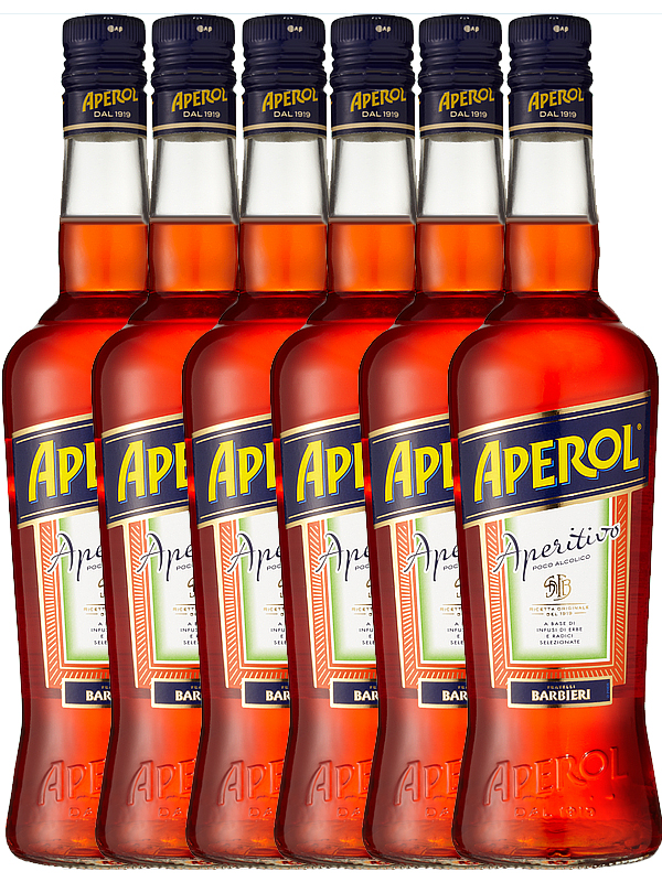Aperol Rhabarber Bitter aus Italien 1,0 Liter - Getraenke-Handel.com ...