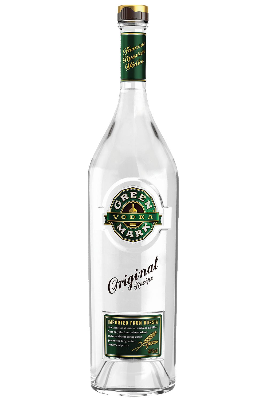 Green Mark Wodka Russland 0,5 Liter - Getraenke-Handel.com ist Ihr ...
