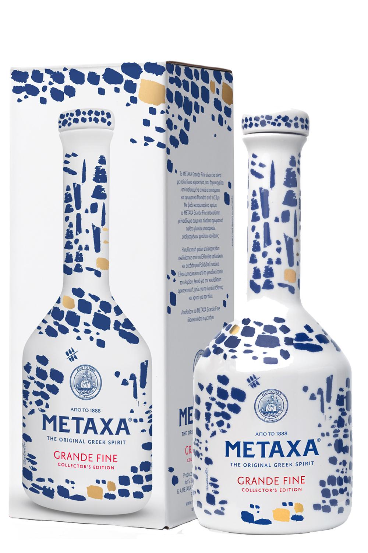 Metaxa Grande Fine GP in Keramikflasche 0,7 Liter - Getraenke-Handel ...
