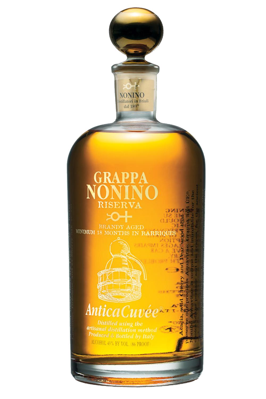 Nonino Antica Cuvee Riserva Grappa aus Italien 0,7 Liter - Getraenke ...