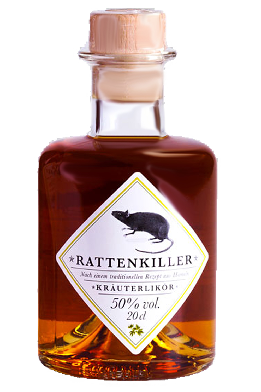 Rattenkiller Kräuterlikör 0,2 Liter - Getraenke-Handel.com
